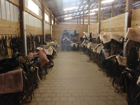 Southern Cross Ranch: Huge and Clean tack room