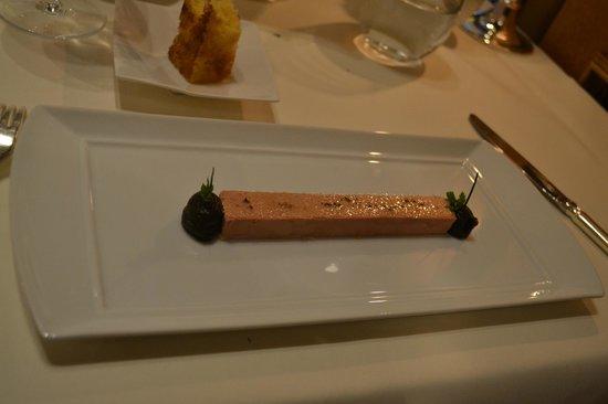 Fischers Fritz: le foie gras anguilles fumées