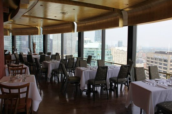 Dinning room picture of toula restaurant toronto for 1 harbour square 38th floor toronto on m5j 1a6