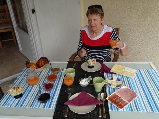 La Moneze Basse: petit-déjeuner