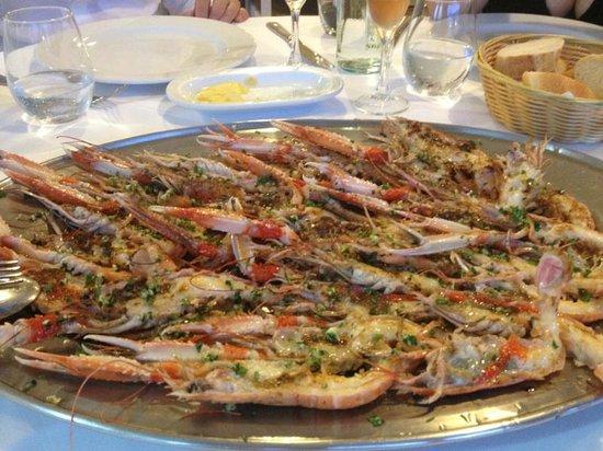 Restaurant Marisqueria Xaco : The best prepared scampi i have ever had