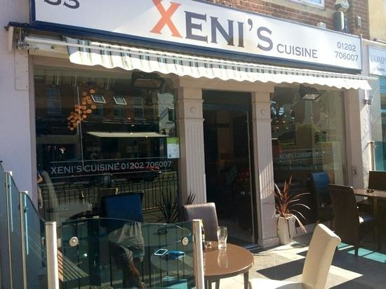 Xenis Cuisine: best food in Bournemouth