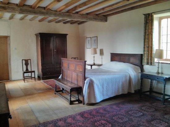 Woodspring Priory: 2nd double bedroom - has adjoining door to twin room