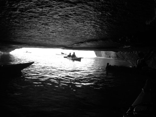 Northern Waters Adventures: View from the cave