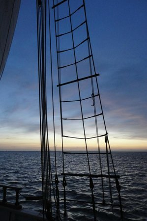 Western Union Schooner : Sunset in Key West