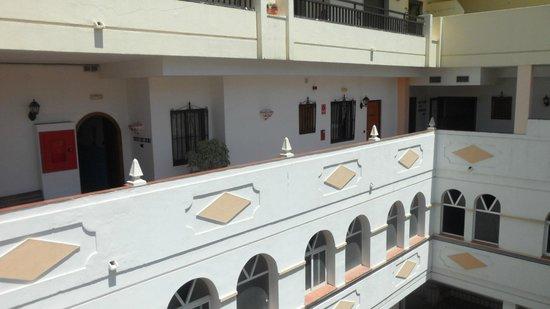 Las Rampas: Most rooms have no balcony
