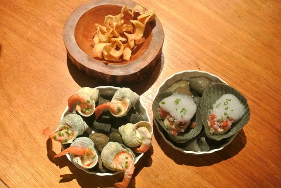 Cuisine De Garden: variety of appetizers