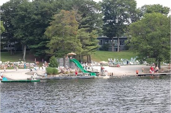 Woodloch Pines Resort: water slide