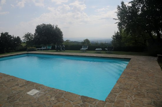 Fattoria San Donato: Part of the pool area