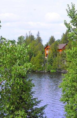 Windigo Lodge : View from deck