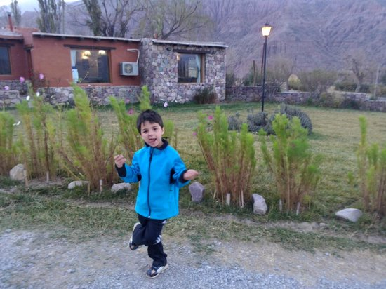 Huaira Huasi: en el parque