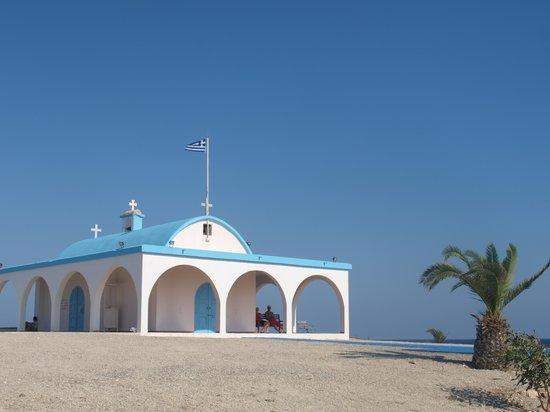 Ayia Thekla Beach: :)