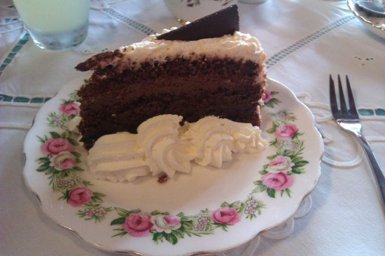 Kitty's Tearoom: Sophie's Sin - a chocolate lover's dream.