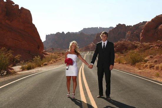 Scenic Las Vegas Weddings Chapel Outdoor