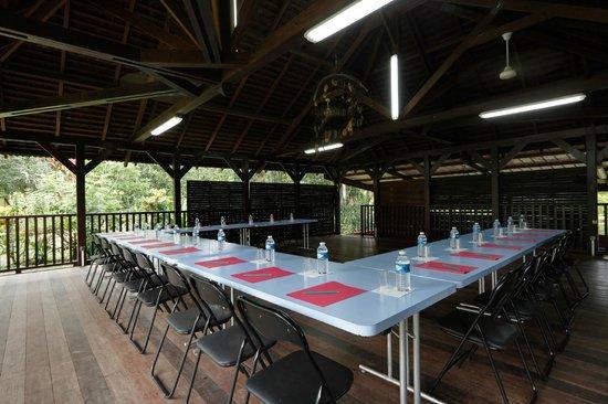 La Chaumiere: Carbet pour les séminaires et réceptions