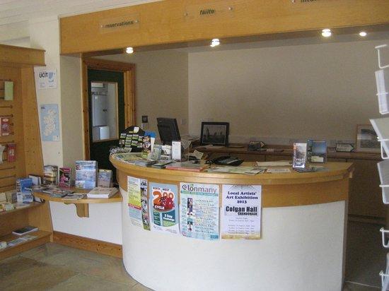 Buncrana Tourist Office : The Counter