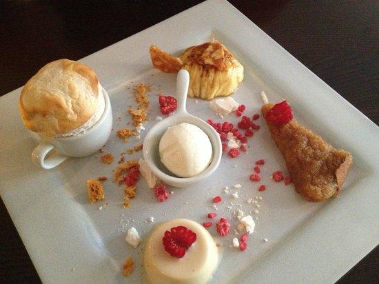 Gingerman: Dessert for 2