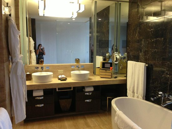 Beautiful bathroom picture of mandarin oriental las - Bathroom remodeling las vegas nv ...