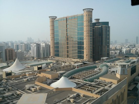 Centro Al Manhal Abu Dhabi by Rotana: A view from the room