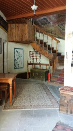Lobby as you enter Kismet Cave House