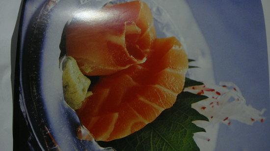 Restaurante Tai: Sashimi de salmon
