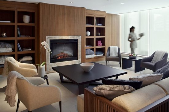 Willow Stream Spa at Fairmont Pacific Rim : Woman's Spa Lounge
