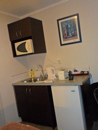 Courtney Motel: keukentje van alles voorzien
