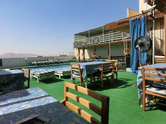 Emilio Hotel: Upper Terrace