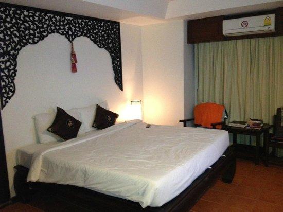 WangBurapa Grand Hotel: detalle de la habitacion