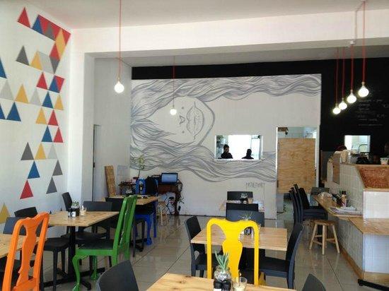 parc: Inside the restaurant