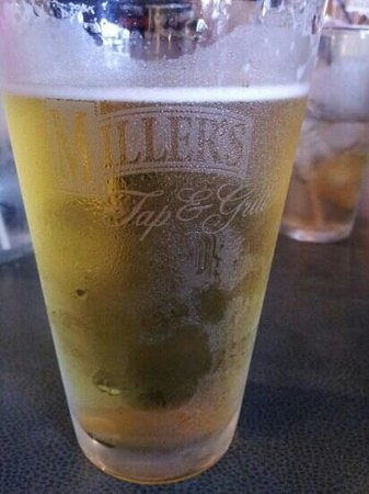 Miller's Tap and Grill: beer