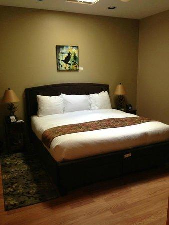 Twisp River Suites: Bedroom