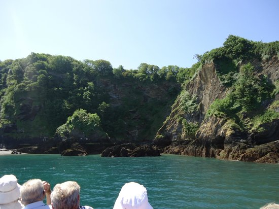 Ilfracombe Princess : Amazing scenery from the Princess