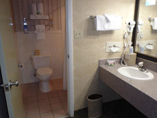 BEST WESTERN Coral Hills: Bathroom