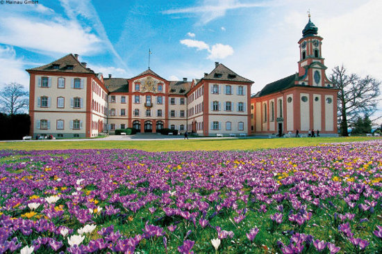 Germany: Island Mainau, Constance: Baroque Castle