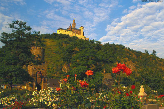 Germany: Braubach: Marksburg Castle