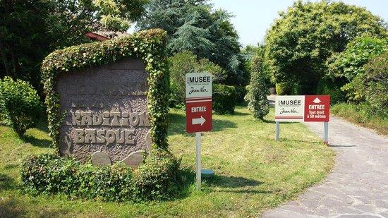 Ecomusee Basque Jean-Vier : Entrée de l'écomusée Basque