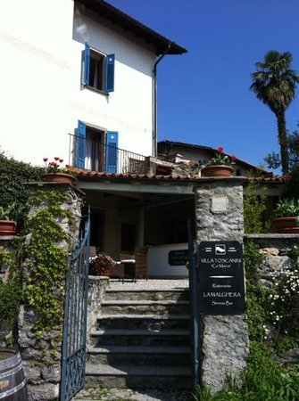Villa Toscanini: ingresso