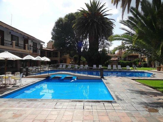 Hotel Maridelfi: Preciosa alberca y jardines