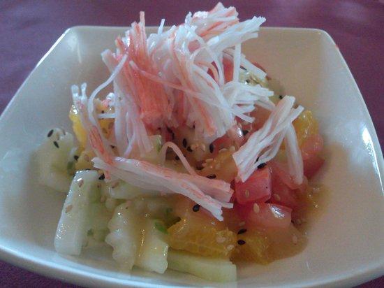 Thai Palace and Sushi Bar: Cucumber Salad Thai Palace Conyers Ga