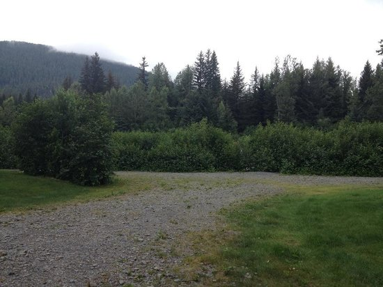 Stoney Creek RV Park: One is from inside the RV and you can not see the creek at all