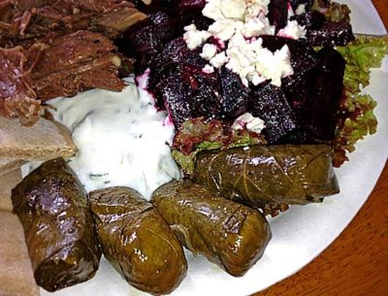 The Oasis Cafe: My Big Fat Greek sampler plate