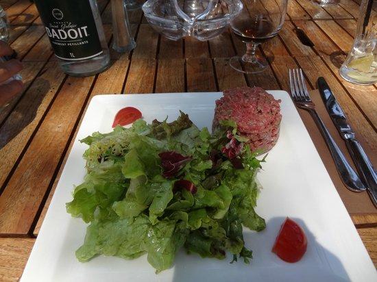 Le Papagayo: steak tartare