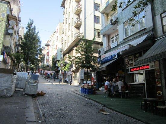 May Otel İstanbul: il quartiere