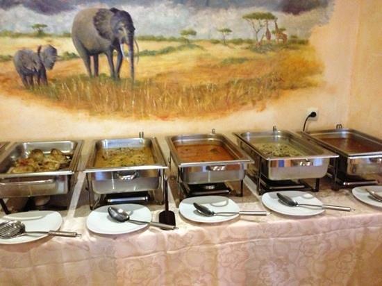 Restaurant Savanna: Buffet