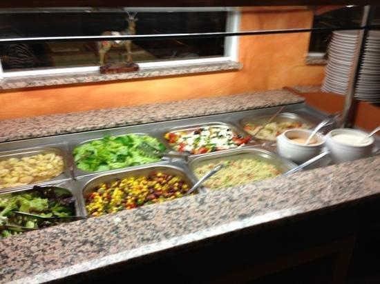 Restaurant Savanna: Salatbuffet