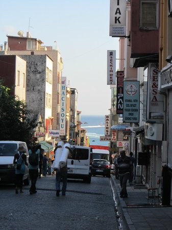 May Hotel Istanbul: il quartiere