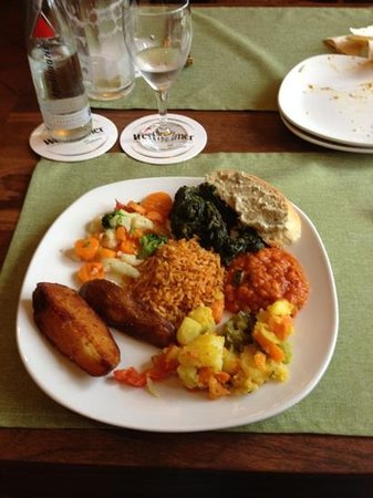 Restaurant Savanna: Essen vom Buffet