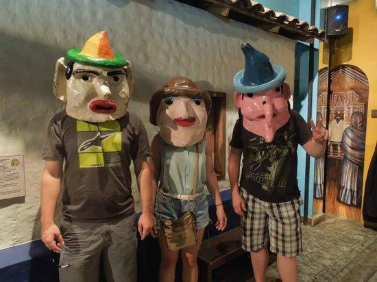 Museo de los Ninos: masks