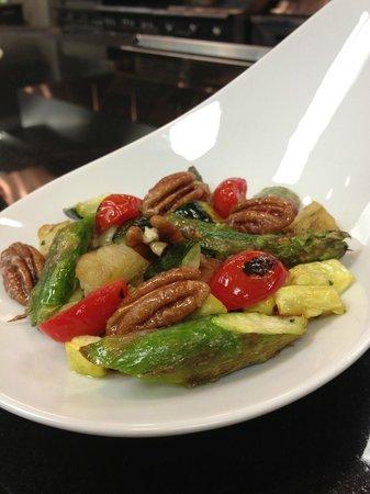 Landry's Seafood: Pecan Roasted Veggies